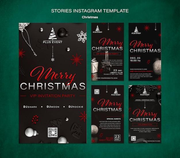 Traditionelle weihnachts-ig-geschichten-sammlung