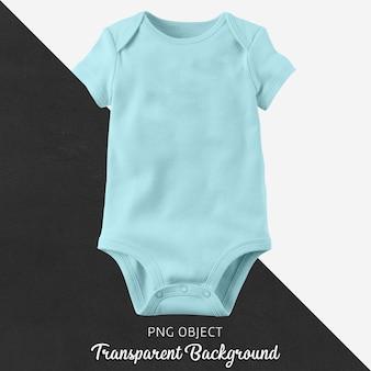 Transparenter blauer body für baby oder kinder