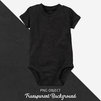 Transparenter schwarzer body für baby oder kinder
