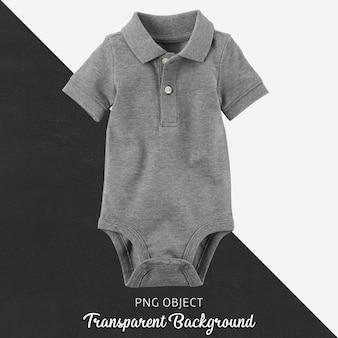 Transprent polo-bodysuit-kollektion für babykleidung