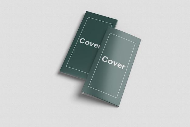 Trifold brochure mockup 5