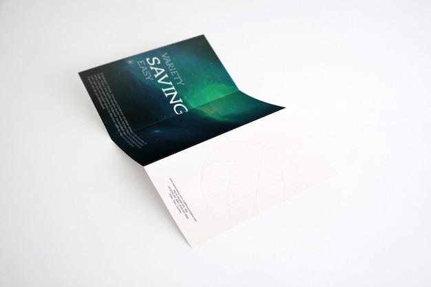 Trifold mock-up-design