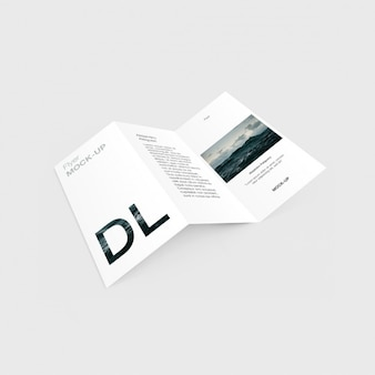 Trifold template-design