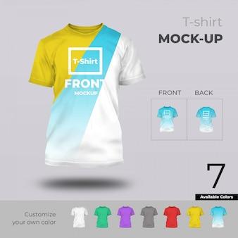 Tshirt-modell