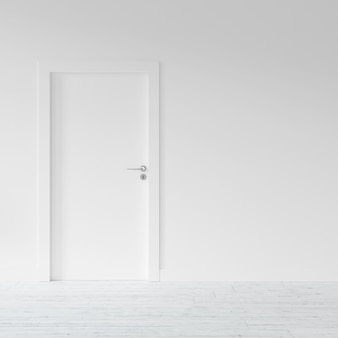 Tür zu einer wohnung