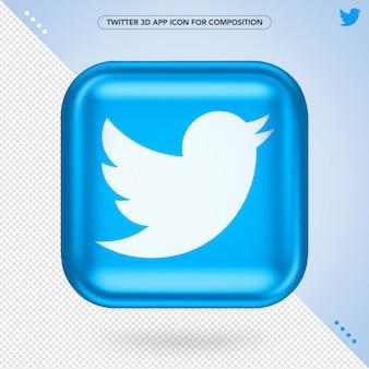 Twitter 3d app