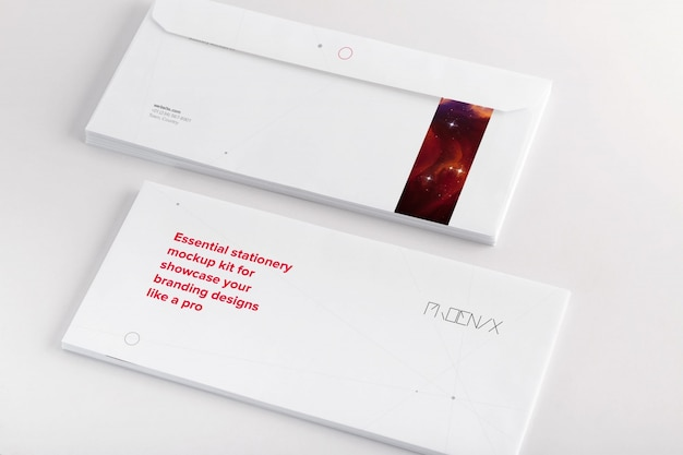 Umschlag mock-up-design