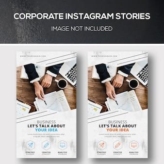 Unternehmens-instagram-geschichten