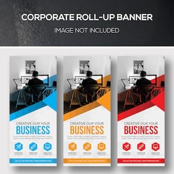 Unternehmens-rollup-banner