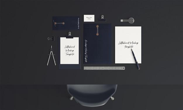 Unternehmens-stationäres set-modell