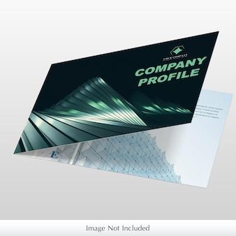 Unternehmensbroschüren-modell