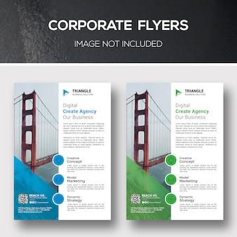 Unternehmensflyer