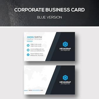 Unternehmensvisitenkarte