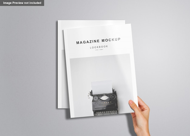 Us briefmagazin mockup