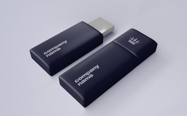 Usb-stick-modell für das merchandising