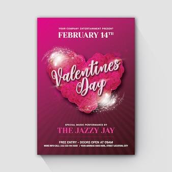 Valentinstag-rosa süß