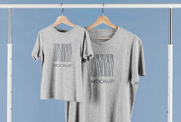 Vatertags-t-shirt-mock-up-arrangement