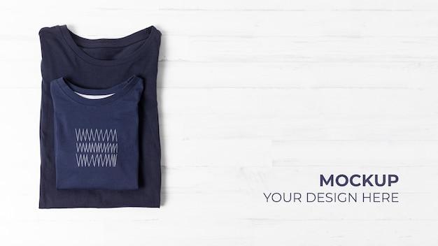 Vatertags t-shirt mock-up sortiment