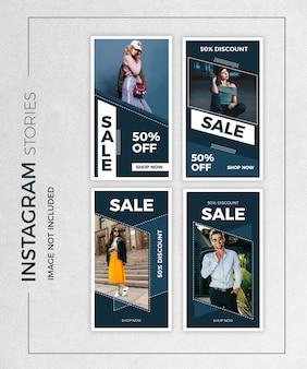 Verkauf instagram geschichten beitragsvorlage