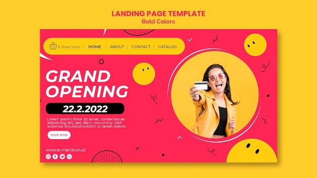 Verkaufsanzeige landingpage vorlage