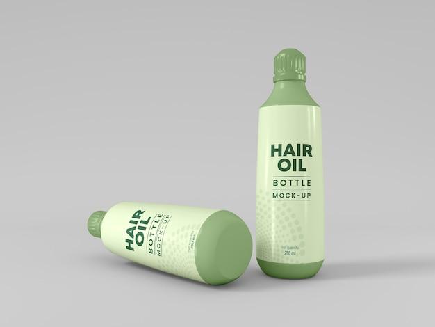 Verpackungsmodell für haarölflaschen