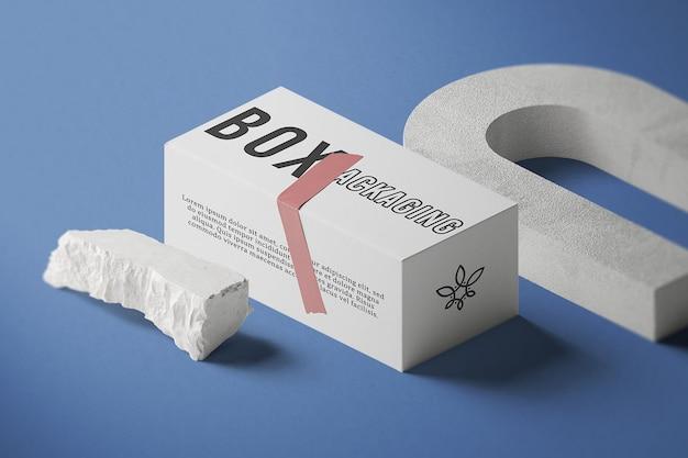 Verpackungsmodell für isometrische ansichtsboxen