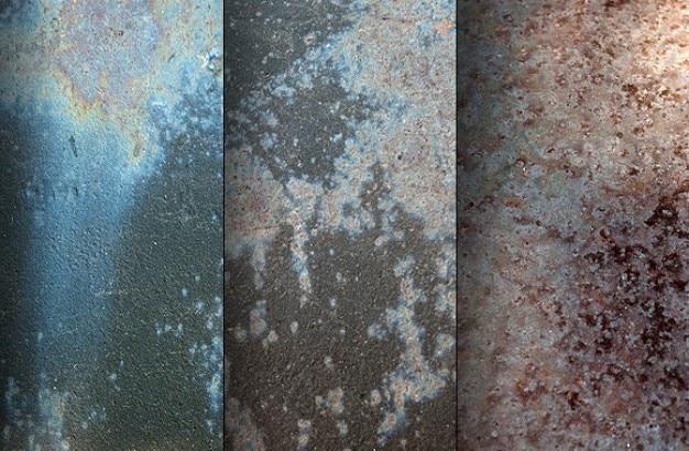 Verrosteten stahl textur 2