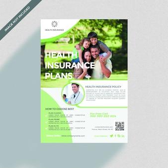 Versicherungsbroschürenabdeckungsmodell
