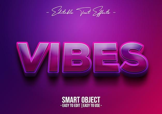 Vibes-text-style-effekt