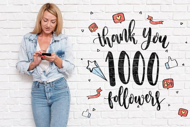 Vielen dank an die follower von blogger