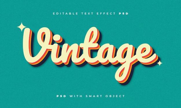 Vintage-texteffekt