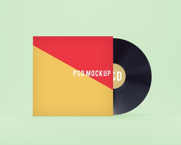 Vinyl-cover mock up