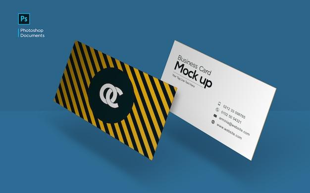 Visitenkarte fliegende modell-design-vorlage