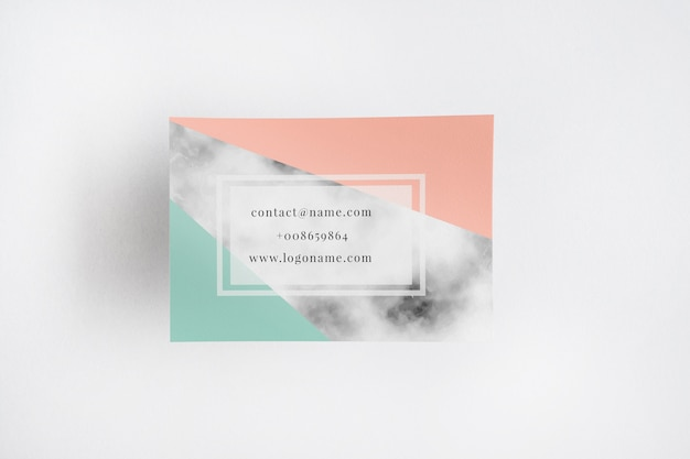 Visitenkarte mocku