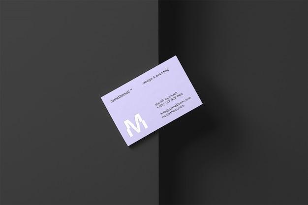 Visitenkarte-modell