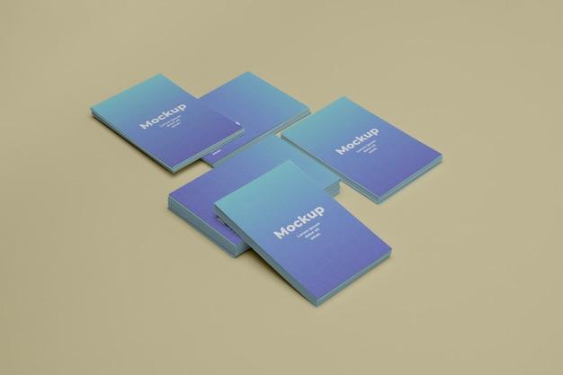 Visitenkarten-design-modell