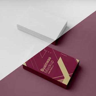 Visitenkarten-mock-up-sortiment