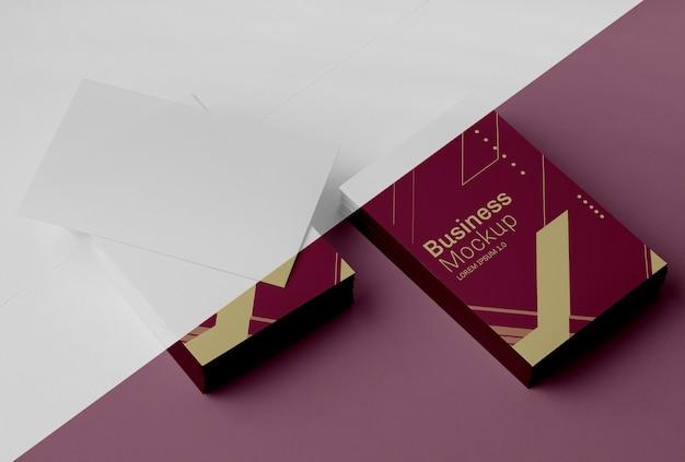 Visitenkarten-mock-up-sortiment Kostenlosen PSD