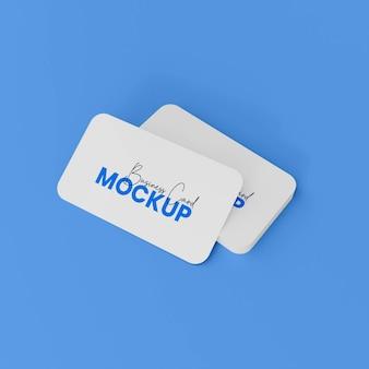 Visitenkarten-mockup design-branding-mockup
