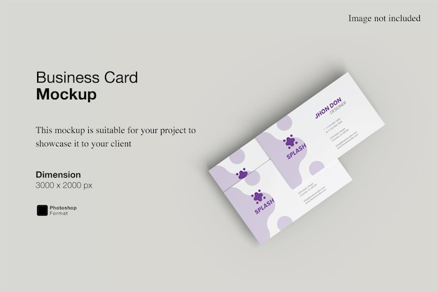 Visitenkarten-mockup-design