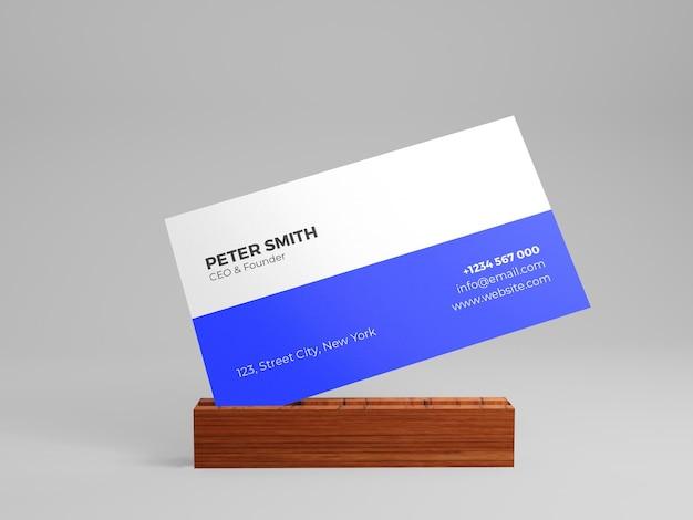 Visitenkarten-mockup-sauberkeitshintergrund