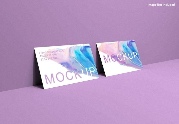 Visitenkarten-mockup-wand
