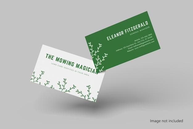 Visitenkarten-mockup