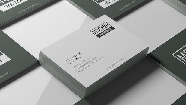 Visitenkarten-modellanordnung