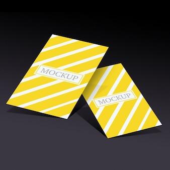 Visitenkarten vorlage Kostenlosen PSD
