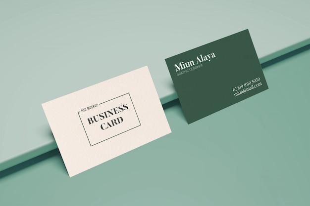 Visitenkartenmodell minimalistisch