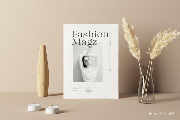 Vorderansicht des magazin-cover-modells