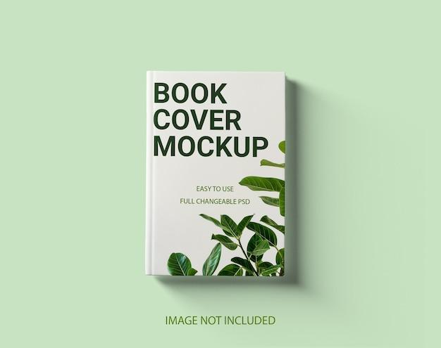 Vorderansicht hardcover-buchmodell
