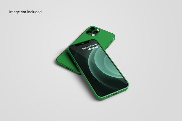 Vorderansicht smartphone mockup