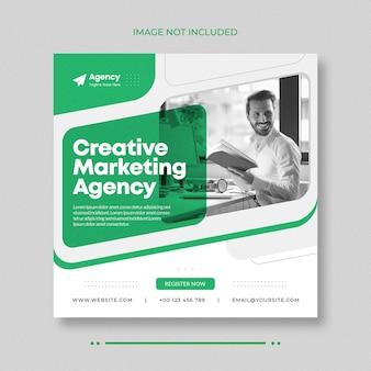 Vorlage für digitales marketing für soziale medien und instagram-banner